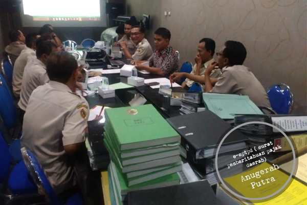 SISMIOP Anugerah Putra : e-sptpd ( surat pemberitahuan pajak daerah)